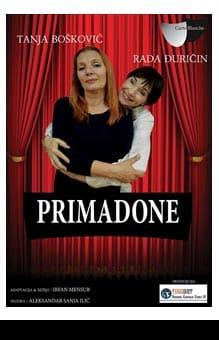 Predstava Primadone u teatru  Kart Blanš