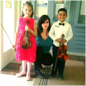 Časovi violine