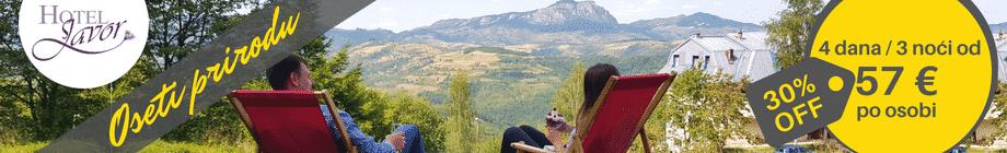 OsetiPrirodu – hotel Javor