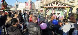 Veseli Božić na Savskom trgu do kraja januara
