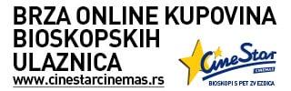 Cinestar bioskopi uvode online plaćanje bioskopskih karata