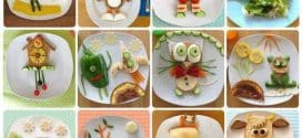 Dekoracije hrane na tanjiru