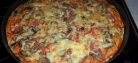 Brza Pizza bez narastanja i kvasca