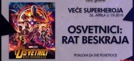 Cine Grand- Veče Superheroja