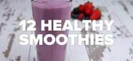 12 zdravih smoothija (video)