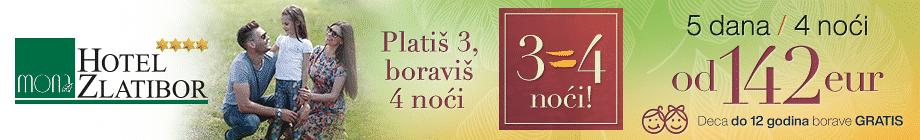 Platis 3=4 noci 2019