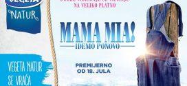 """Karte za premijeru """"Mama mia"""" 2 u prodaji!- Taramount"""