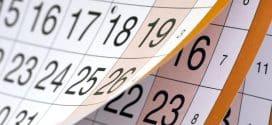 Školski kalendar za 2018/2019