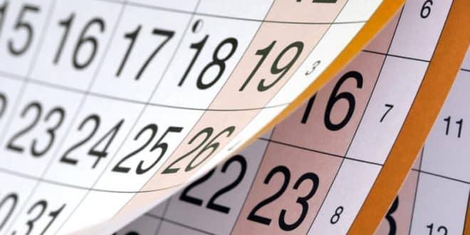 Školski kalendar za 2019/2020