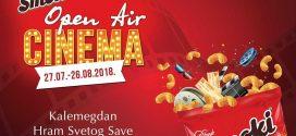 Open Air Cinema: Besplatne filmske projekcije