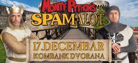 Kralj Artur i vitezovi okruglog stola zasedaju u ponedeljak u Kombank dvorani -Spamalot!
