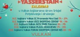 Druženje sa Yasserstain-om i potpisivanje kalendara