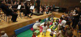 Koncerti za bebe u Beogradskoj filharmoniji