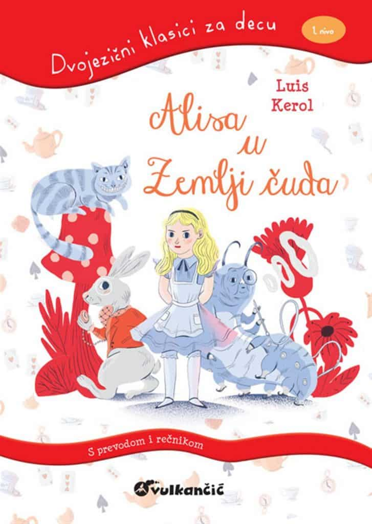 dvojezični klasici za decu: Alisa u zemlji čuda