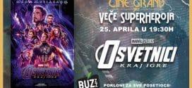 Veče superheroja u bioskopu Cine Grand