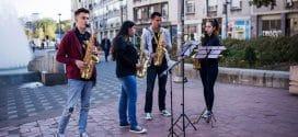 Besplatan nastup Bande saksofonista povodom Svetskog dana muzike u centru Beograda