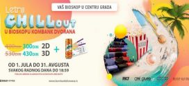LETNJI CHILL OUT U KOMBANK DVORANI