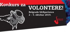 Poziv za volontere – Šesti međunarodni festival saksofona Belgrade SAXperience
