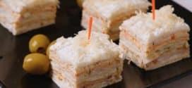 Slana rozen torta sa sirom, pestom, šunkom i suvim paradajzom