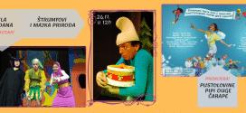 Nedeljni repertoar Dečije scene Akademije 28