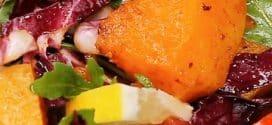Vegetarijanska salata od bundeve i leblebija