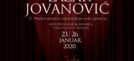 """KONCERT POBEDNIKA 17. MEĐUNARODNOG TAKMIČENJA SOLO PEVAČA """"LAZAR JOVANOVIĆ"""""""
