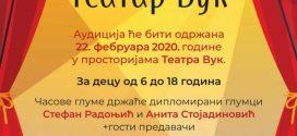 ŠKOLA GLUME – Teatar VUK – 2020.