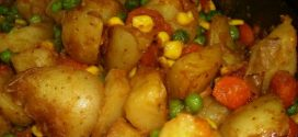 Varivo od krompira,graška i kukuruza