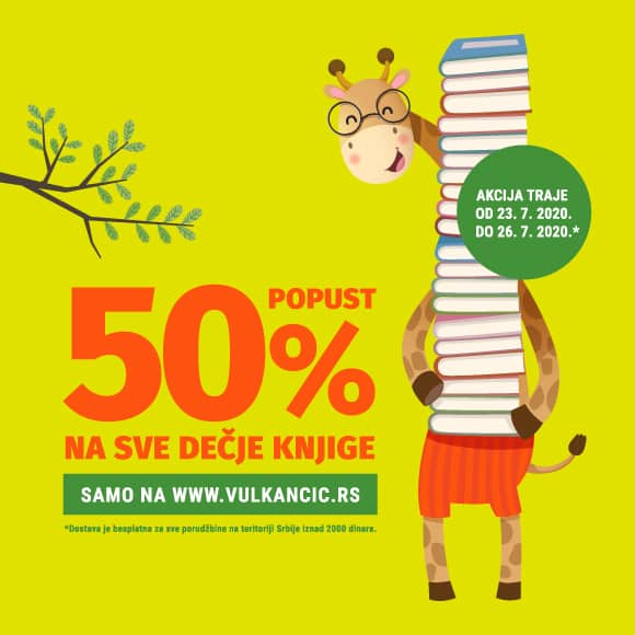 SVE VULKANČIĆ KNJIGE NA SNIŽENJU OD 50%!