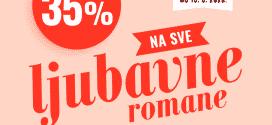 Najlepši ljubavni romani Vulkan izdavaštva po sjajnim cenama!