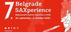 SEDMI MEĐUNARODNI FESTIVAL SAKSOFONA – BELGRADE SAXPERIENCE 2020.