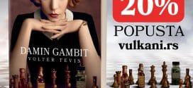Bestseler Damin gambit konačno u prodaji