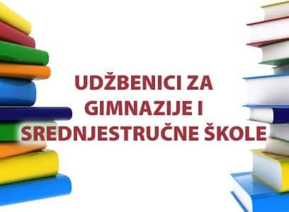 Spisak odobrenih udžbenika za srednje škole i gimnazije