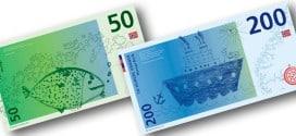 Novačanice sa dečijim crtežima